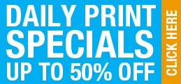 One Stop Print Shop Daily Print Special