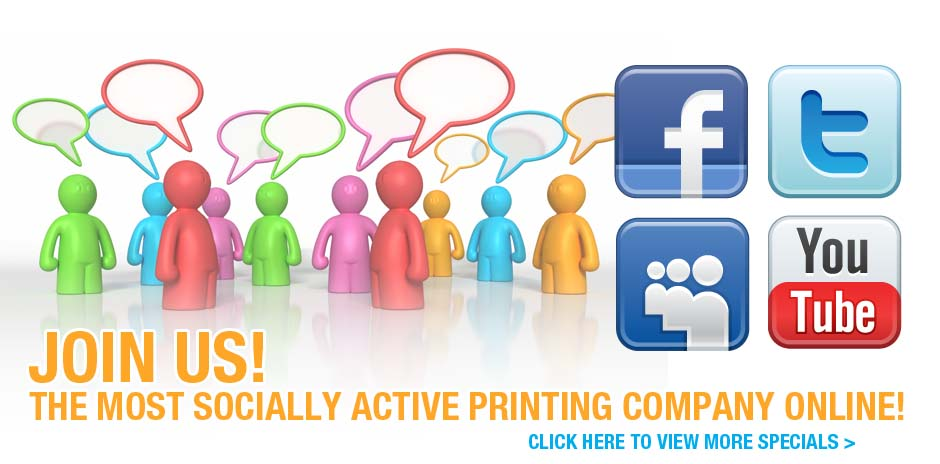 One Stop Print Shop on Social Network